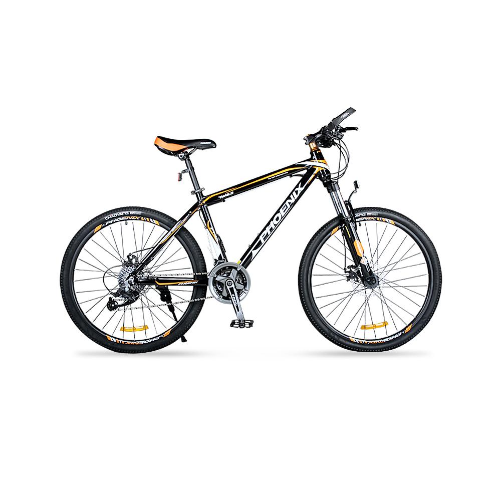 永久自行车2124速镁铝合金一体轮青少年自行车